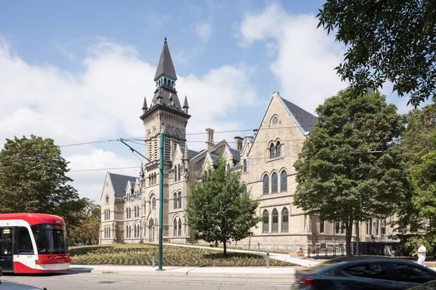 Knox College, on the University of Toronto campus.