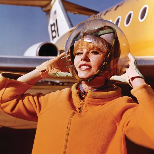 San Francisco International Airport's Fashion in Flight: Airline Uniform Design exhibit spans from the 1930s to present day.