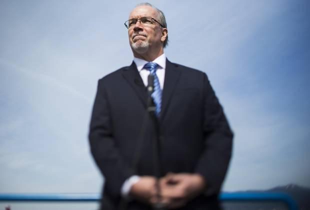 B.C. NDP Leader John Horgan.