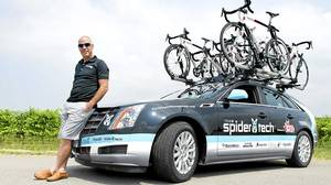 Steve Bauer competed in 11 Tour de France races and captured a silver medal at the 1984 Los Angeles Summer Olympics. He drives a 2011 Cadillac CTS wagon.