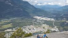 Views from Stawamus Chief, overlooking Squamish, attract thousands of climbers and hikers every year. (JONATHAN HAYWARD/The Canadian Press)