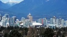 Vancouver's skyline seen from Queen Elizabeth Park. (Kevork Djansezian/Getty Images/Kevork Djansezian/Getty Images)