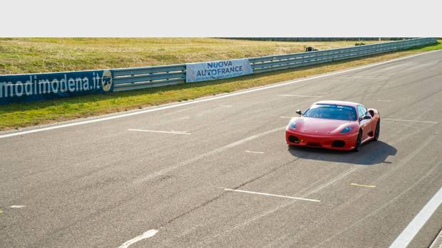 At the Autodromo di Modena in the Northern Italian region of Emilia-Romagna you can take a Ferrari F430 Challenge racecar for a spin around the track. Photo credit: Paul Shio