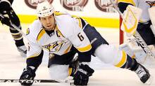 Nashville Predators defenseman Shea Weber