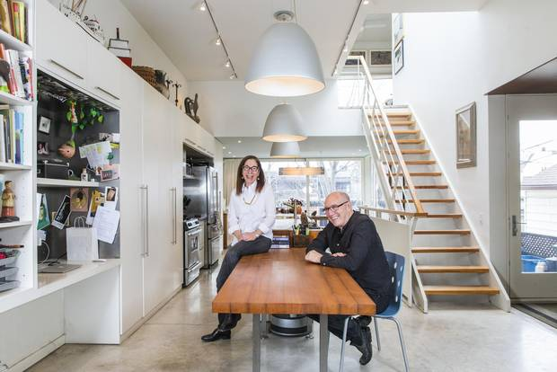 Architects Janna Levitt and Dean Goodman designed a house that could easily shift to accommodate children, future renters and, one day, their golden years.