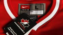 Hockey Canada, the sport's national governing body, is looking at ways to ensure that its hockey merchandise is sourced from ethical suppliers. (Peter Power/Peter Power/The Globe and Mail)