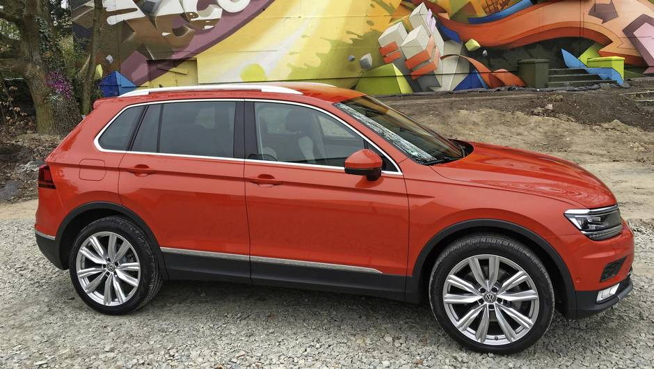 Review 2018 Vw Tiguan Is Ger Tougher And More Capable