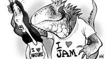 the lizard likes jam