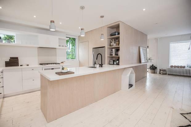Toronto home of Joel Barkin and Sarah Phillips, by Studio AC.