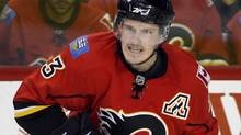 Calgary Flames defenceman Dion Phaneuf. (Jeff McIntosh)