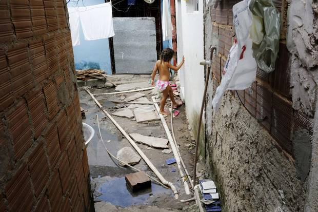 The highest Zika infection rates are in northeastern cities such as Joao Pessoa, Paraiba, where poor sanitation systems leave standing water as breeding grounds for mosquitoes – and where residents with no air conditioning keep the windows of their small houses open all night for hints of breeze.