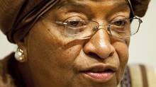 Liberian President Ellen Johnson Sirleaf Sirleaf has been jointly awarded the Nobel Peace prize on October 7, 2011. (JIM WATSON/AFP/Getty Images/JIM WATSON/AFP/Getty Images)