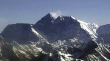 Mount Everest, the world's tallest mountain. (AP)