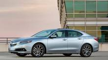The 2015 Acura TLX handles much better and is quicker than its predecessor, the TSX. (Honda)