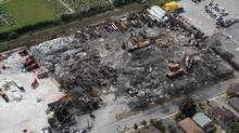 The explosion in August of 2008 killed an employee and forced thousands from their homes. (Charla Jones/The Globe and Mail/Charla Jones/The Globe and Mail)
