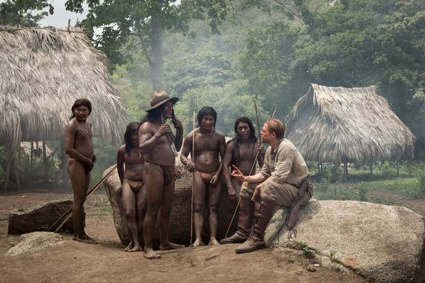 Charlie Hunnam, right, in The Lost City of Z.