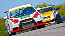 CTCC drivers Garry Kwok and Bob Attrell. (CTCC)