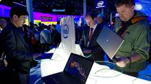Analysts are increasingly concerned with Intel's shrinking profit margins and expect its quarterly profit to drop. (David Paul Morris/Bloomberg)