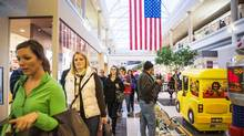 Shoppers make their way through the Walden Galleria mall in Buffalo, New York. (JENNIFER ROBERTS For The Globe and Mail)