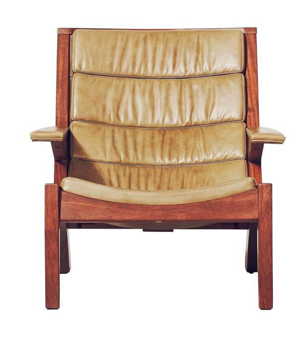 Carlos Motta Saquarema lounge chair, starting at $7,705 at Avenue Road (avenue-road.com).