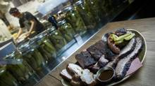 The meat Carbon Bar is high quality, but the flavours and consistency are lacking. (Kevin Van Paassen/The Globe and Mail)