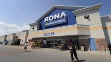Rona shares keep takeover hope alive (Fred Lum/Fred Lum/The Globe and Mail)