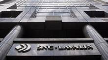 Montreal headquarters of engineering giant SNC-Lavalin. SNC has won a $1.6-billion five-year contract to build transmission lines and substations in Alberta. (Ryan Remiorz/The Canadian Press/Ryan Remiorz/The Canadian Press)