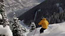 Some of the old pistes of Telluride Ski Resort are impossibly steep. (Nathan Bilow/Associated Press)