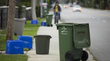 Locals will see little change in the way their trash and recyclables are collected, but a non-profit will be responsible for garbage collection. (John Lehmann/The Globe and Mail)