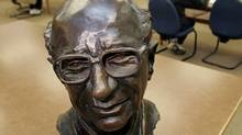 A bust of the late Milton Friedman, the Nobel Prize-winning economist, in a reading room at Stanford University. The U.S. money supply is going through the roof, which suggests, if Mr. Friedman's theories are correct, that inflation is on the way. (Paul Sakuma/Associated Press/Paul Sakuma/Associated Press)