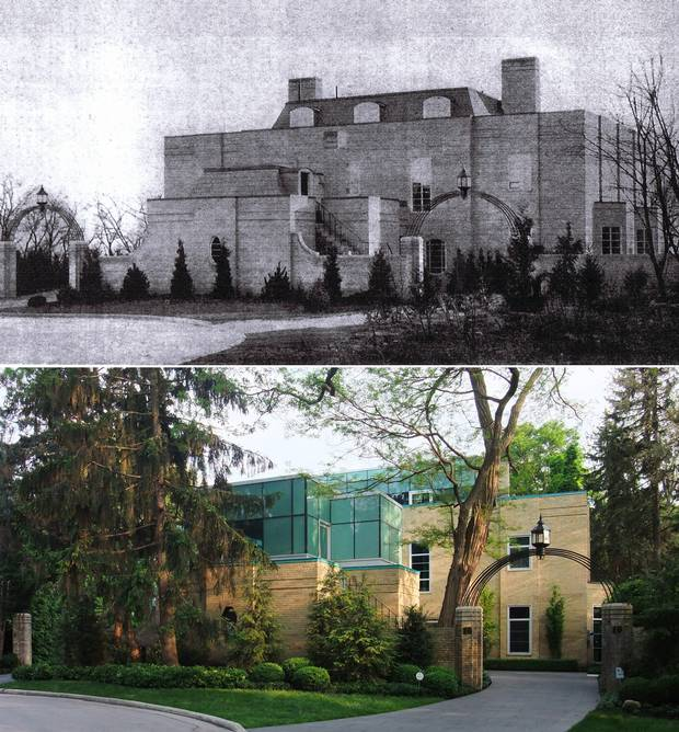 The Daniels Residence, originally built in the 1930s, underwent a modernization by Toronto firm Sustainable.to.