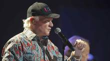 Mike Love of the Beach Boys perform at the Beacon Theatre in New York City, New York, a stop on their 50-year anniversary world tour May 8, 2012. (LEE CELANO/REUTERS)