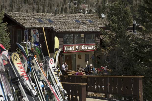 The Hotel St. Bernard at Taos Ski Valley in New Mexico, founded in 1960, clings to tradition and offers no television in the rooms.