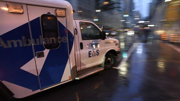 The emergency department at St. Michael's Hospital located at the corner of Shuter and Victoria Sts. in downtownToronto, is photographed on Oct. 20, 2016.