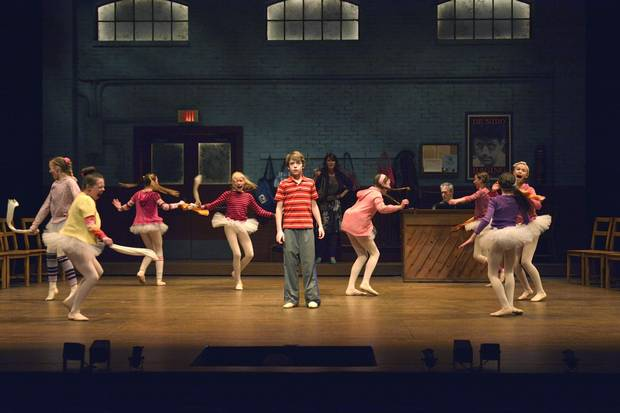 Cast members of Billy Elliot, directed by Steven Schipper, are pictured in 2016.