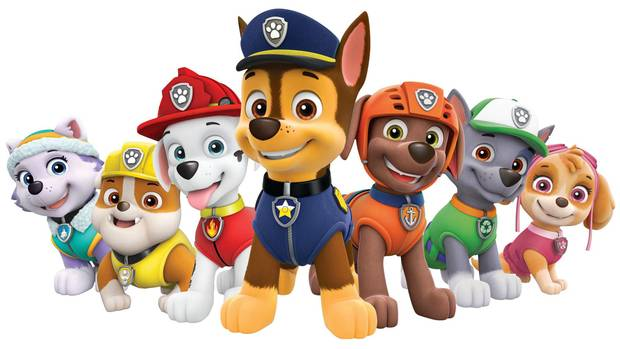 Paw Patrol is a Canadian-made animated TV show for pre-schoolers about a team of dogs protecting the seaside town of Adventure Bay.