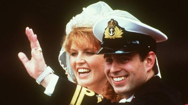 Prince Andrew married Sarah Ferguson in 1986.