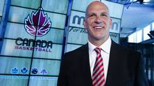 Canada Basketball held a press conference at the Air Canada Centre in Toronto on August 23, 2012 to announce Jay Triano as the new head coach for the men's basketball team. (Peter Power/The Globe and Mail)