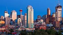 The Calgary skyline is shown on Sept. 9, 2010. (Chris Bolin for The Globe and Mail)