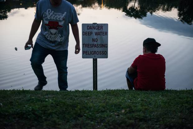 Fernando, who can't swim, says he wasn't scared when he made the Rio Grande crossing that brought him to the United States.