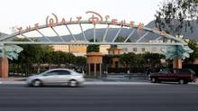 The main gate of The Walt Disney Co. is pictured in Burbank, Calif. Walt Disney Co., which reported record earnings in November, started an internal cost-cutting review several weeks ago, sources told Reuters. (FRED PROUSER/REUTERS)
