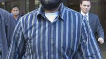 Former Ottawa hospital technician Misbahuddin Ahmed was found guilty Friday of two terrorism-related charges. (Pawel Dwulit/The Canadian Press)