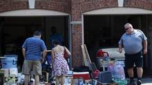 Erik Boss is not out to stop garage sales in the city, but rather to keep them from getting out of hand. It's the big-wig dealers that he's really after, the ones trying to supplement their store income through yard sales without paying taxes or having the necessary permits (Michelle Siu For The Globe and Mail)
