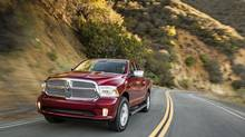 The 2014 Ram EcoDiesel's turbocharged engine delivers excellent power and best-in-class fuel economy. (Chrysler)