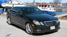 The 2011 Mercedes E 350 BlueTec is a classy, stylish four-door luxury sedan (Bob English for The Globe and Mail)