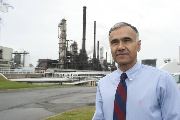 Mike Ashar, former president of Irving Oil.