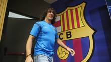 FC Barcelona's Carles Puyol (Manu Fernandez/The Associated Press)