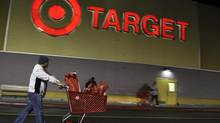 Target's 1-per-cent decline in same-store sales stemmed from weakness in the first two weeks of November, the retailer's CEO said. (JONATHAN ALCORN/REUTERS)