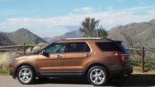 The 2011 Ford Explorer was aimed at soccer moms instead of off-road rock-hoppers. (Ted Laturnus for The Globe and Mail)
