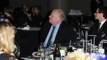 Rob Ford at the 126th Annual Toronto Board of Trade Dinner (Tom Sandler for the Globe and Mail)